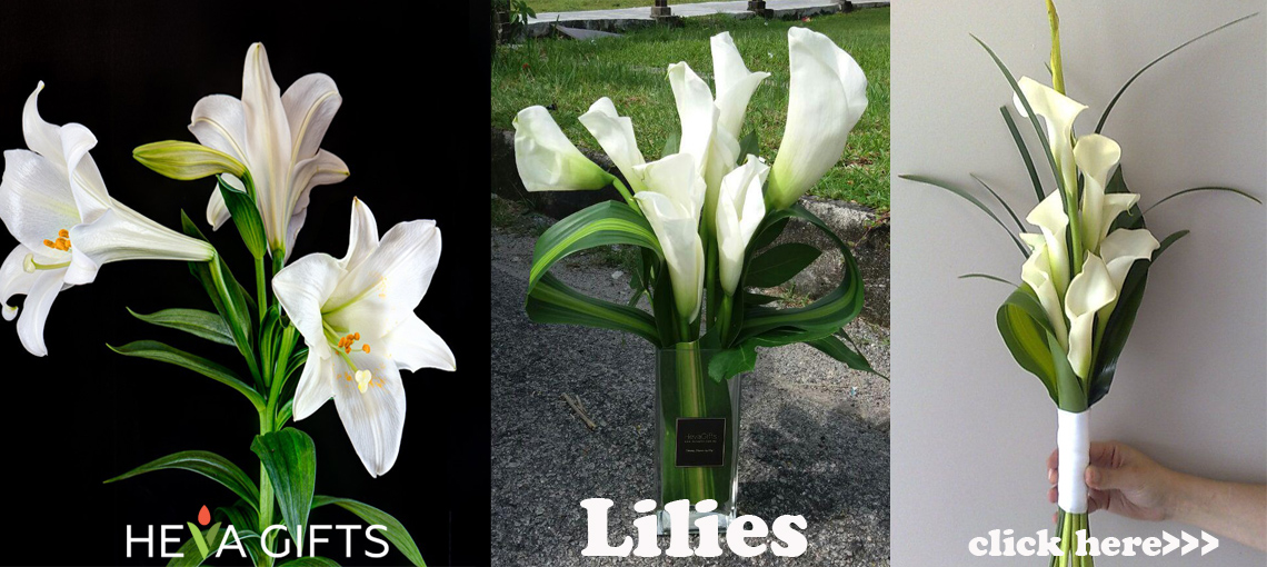 Lilies delivery Malaysia