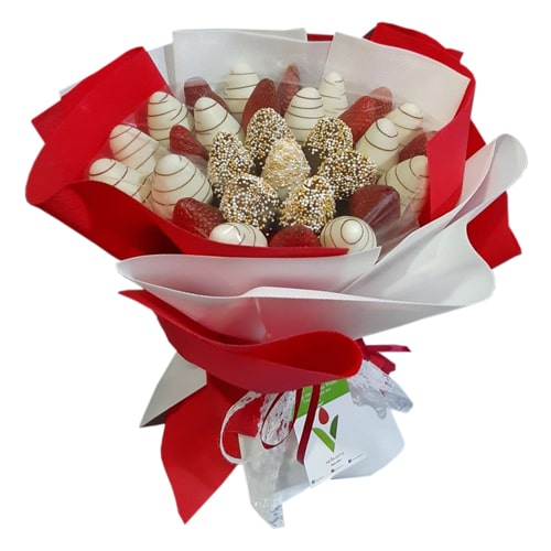 Brexy Chocolate Strawberries Bouquet Heva Gifts Chocolate Bouquets Delivery