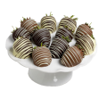 Rainbow Collection: Dark, Milk and White Chocolate dipped Strawberries