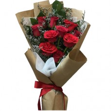 ELEGANCE COLLECTION: RED ROSES  BOUQUET