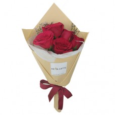 ELEGANCE COLLECTION: Mini Red Rose bouquet
