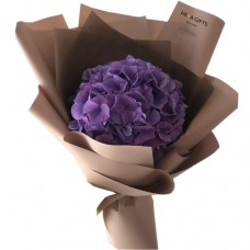 PROSPERITY COLLECTION: Stylish Purple Hydrangea bouquet