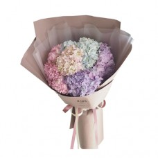 PROSPERITY COLLECTION: Mega Hydrangea mix color Bouquet