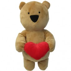 ADD-ON: Brown Teddy with Heart