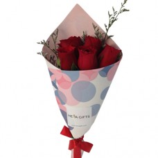 Happiness Collection: Mini Red Roses Bouquet