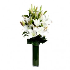 Coco Collection: White Parfume. White Lilies bouquet
