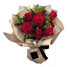 ETERNITY LOVE COLLECTION: Red Roses Stylish bouquet