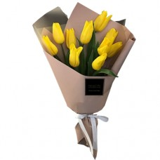 ETERNITY LOVE COLLECTION: Yellow Tulip bouquet