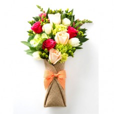 Poova Collection: Mix color Roses bouquet