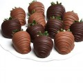 Dark & Milk Classic Chocolate dipped Strawberries
