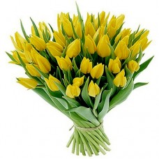 Monica: Yellow Tulip Bouquet