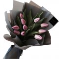 COCO Collection: Stylish Pink Tulip bouquet
