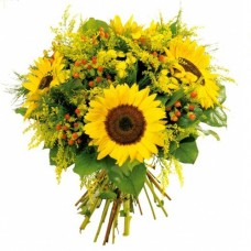 Sweet Smile: Sunflower Bouquet