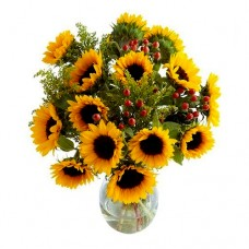 Berriewood: Sunflowers Bouquet in Vase