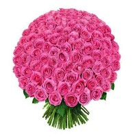 Be Mine! Pink Roses Bouquet