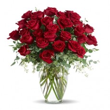 Always in my Mind: Red Roses Bouquet - Ashleigh